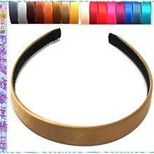 ☆POLLY媽☆歐美進口絲緞2.5cm髮箍~銀灰、咖啡、棕色、紅色、藍色…共16色