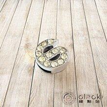 【鐘點站】水鑽 數字6/DIY時鐘數字├掛鐘 鐘面 造型數字┤