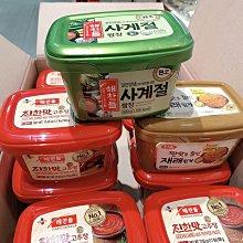 韓國思潮牌辣椒醬500g~韓國辣椒醬500克~拌飯、拌麵、火鍋調味料沾料~葷食哦