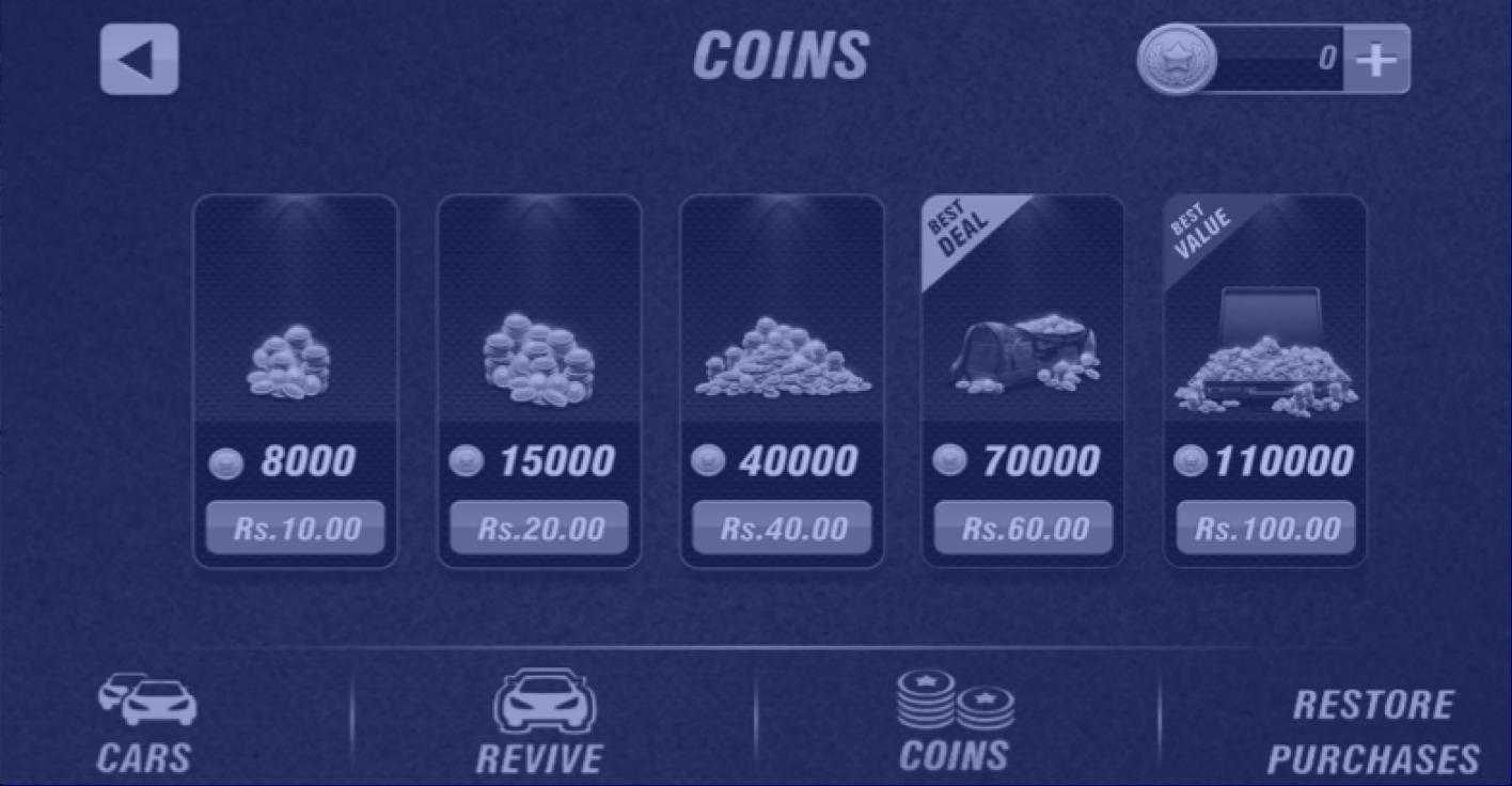 Coin rewards