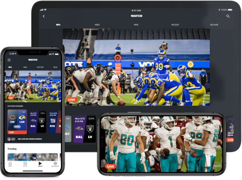NFL Live multi device preview: Cardinals @ Dolphins