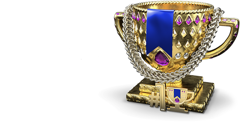 Trophy; Make better choices. Choose Yahoo Fantasy Football.