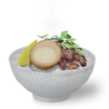 點我打開「3D滷肉飯」美食濾鏡 - AR擴增實境 隨享小確幸