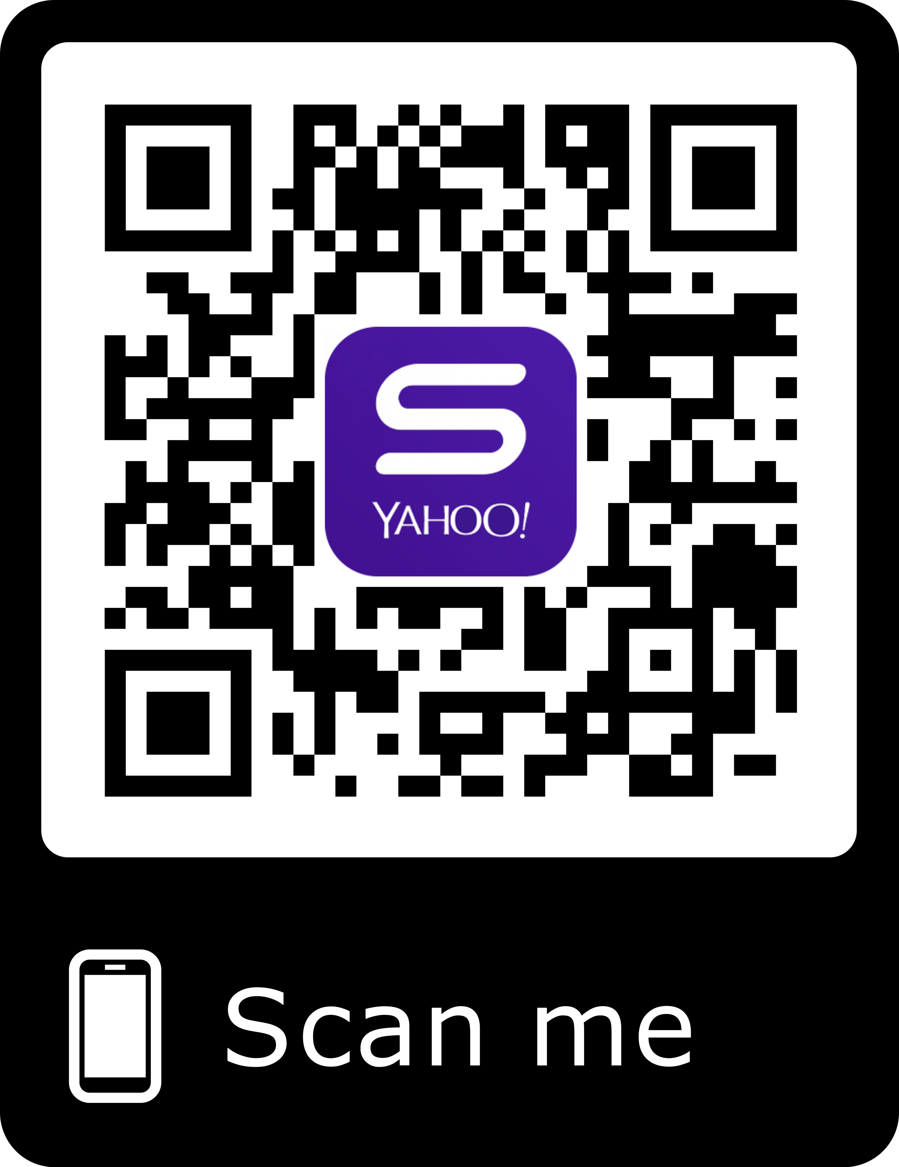 yahoo mobile QR code