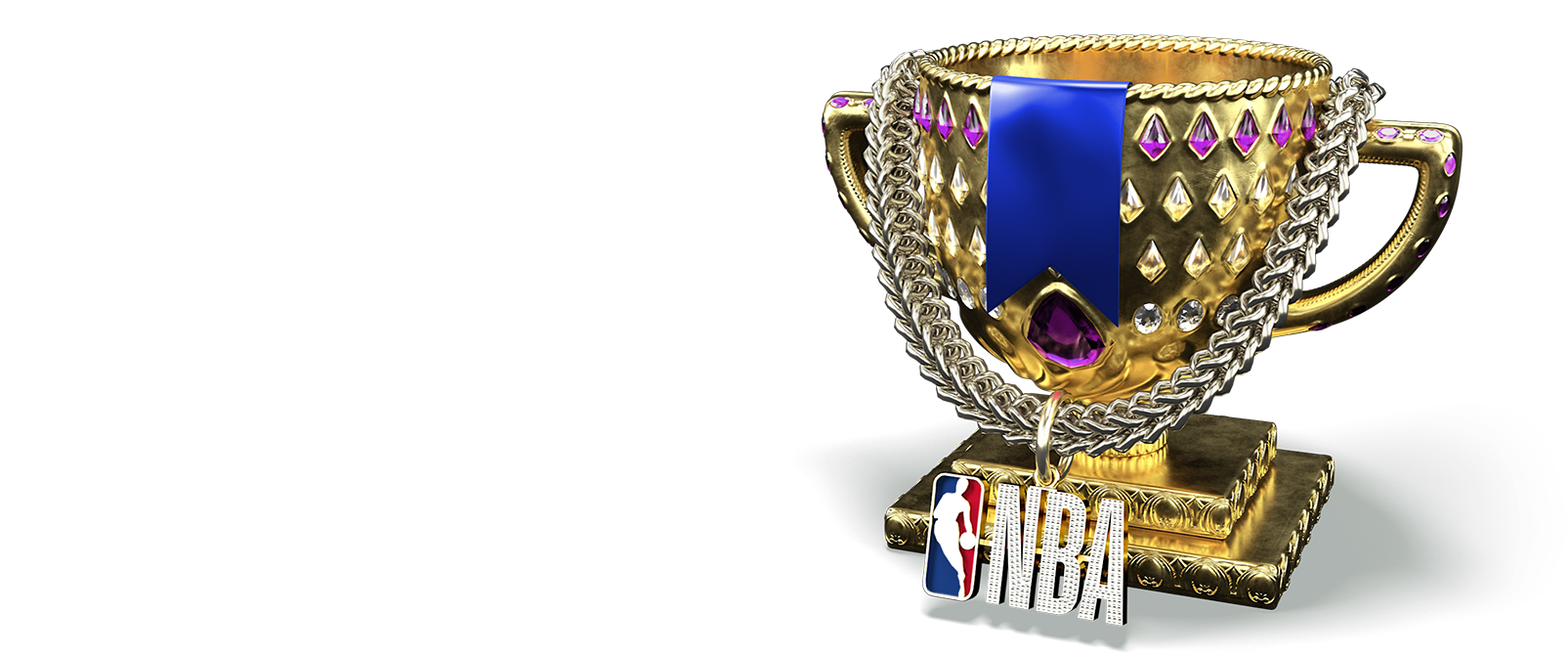 Trophy; Play the official fantasy game of the NBA