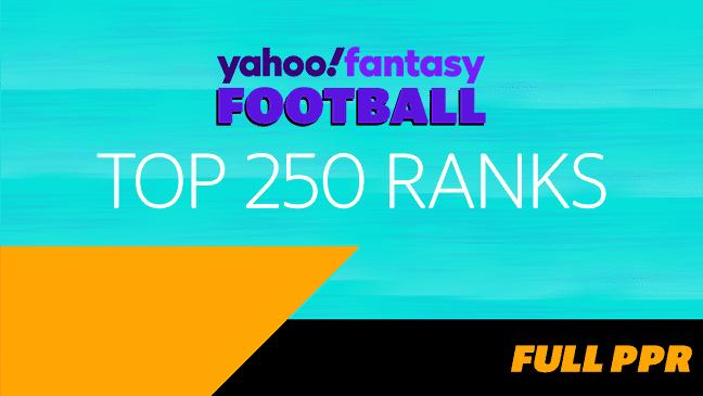 Top 250 Ranks - Full PPR (9/02/21)