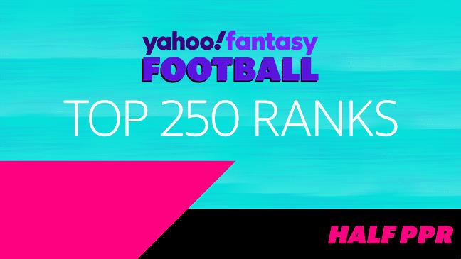 Top 250 Ranks - .5 PPR (9/02/21)