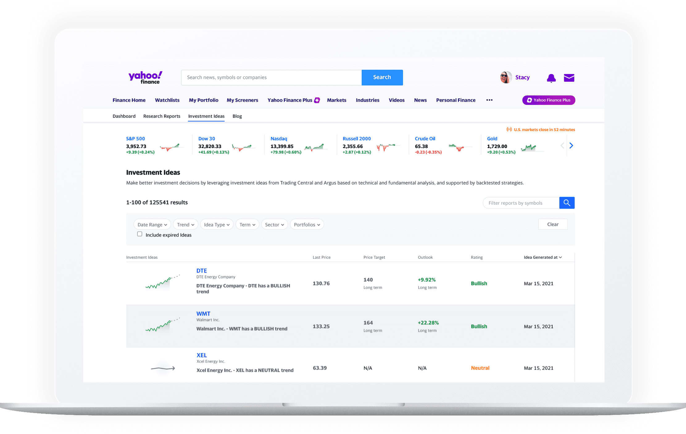 Investment Ideas Preview