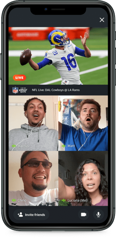 NFL Live device preview: Giants @ Lions