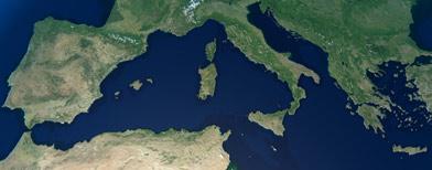 Europa vista desde el espacio