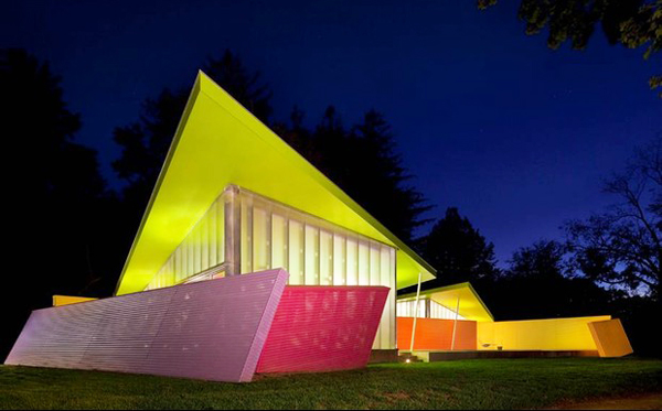 Colorful Homes Or Why Beige Is No Longer A Color Blue Architecture