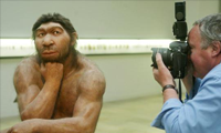 Un hombre de Neandertal vivo