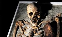 """Un """"vampiro"""" medieval enterrado"""