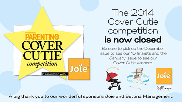 Practical Parenting Australia - Cover Cutie Competition now closed