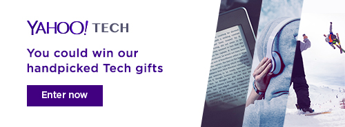 YAHOO TECH - You could win our handpick Tech gifts. Enter now