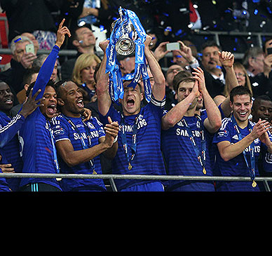 Terry leads Chelsea to League Cup win