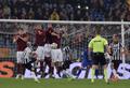 Keita risponde a Tevez, Roma-Juventus 1-1