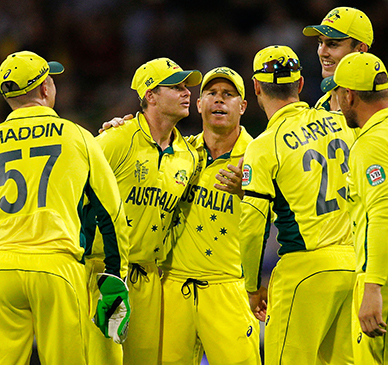 Records tumble in Aussie victory