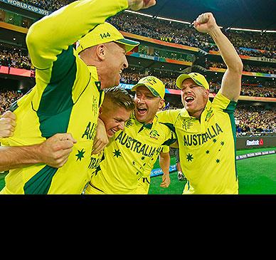 Australia cruise to World Cup glory