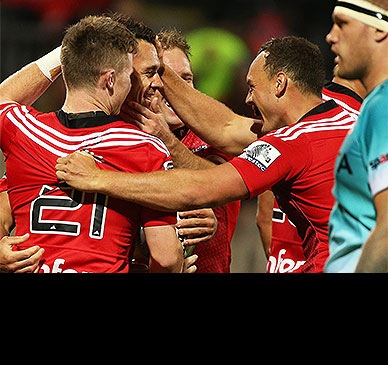 Crusaders make seven changes