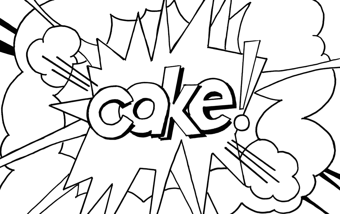 Free coloring pages of pop art for Roy lichtenstein coloring pages