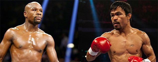 Floyd Mayweather v Manny Pacquiao - boo! (ES)