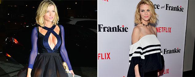Joanna Krupa and Brooklyn Decker (Rex, Getty)