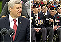 VIDEO: Harper honours vets at ceremony in Netherlands