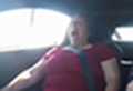 Woman's hilarious reaction to nephew's driving