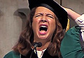 VIDEO: Imagine if Maya Rudolph did this at your grad