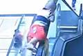 Boy survives fall from escalator