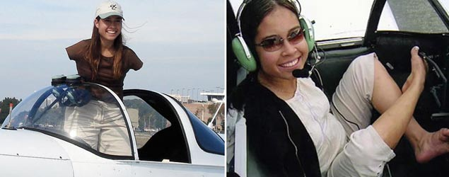 Woman with no arms becomes pilot (Barcroft)