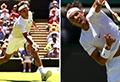 Doppelschlag von Nadal und Federer