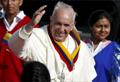 Francisco llegó a Ecuador y pidió más diálogo