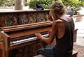 Piano skills wow crowd