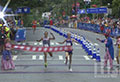WATCH: Runner loses race by celebrating too early