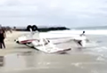 WATCH: Plane crashes and hits boy