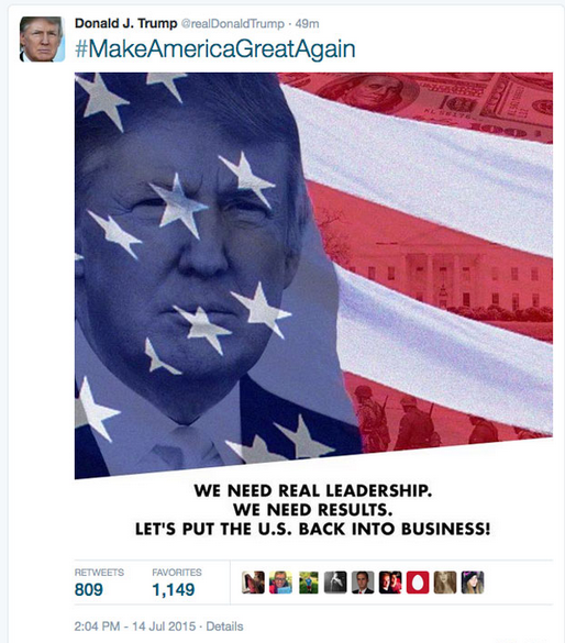 LOL, Trump's campaign team mistakenly tweets star-spangled Nazis  Screen_Shot_2015-07-15_at_5.17.18_PM