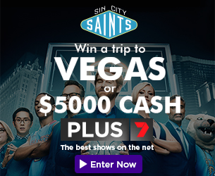 Win with PLUS7 and Sin City Saints