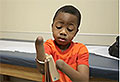 Boy has world-first double hand transplant