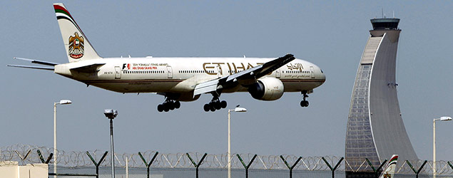 An Etihad Airways plane (PA)