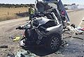 Mueren tres menores en un accidente en Zamora
