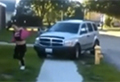 WATCH: Angry dad 'runs down' his daughter's bullies