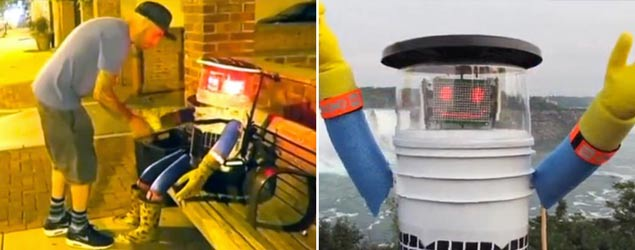 Hitchhiking robot's tour ended by vandals (Sky News)