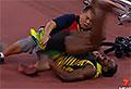 Usain Bolt run over by segway
