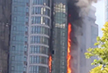 WATCH: Luxury 22-storey building engulfed by fire