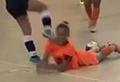 WATCH: Female futsal player kicks opponent in face