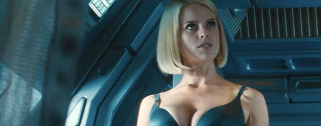 Alice Eve defends controversial underwear scene in Star Trek (Rex)