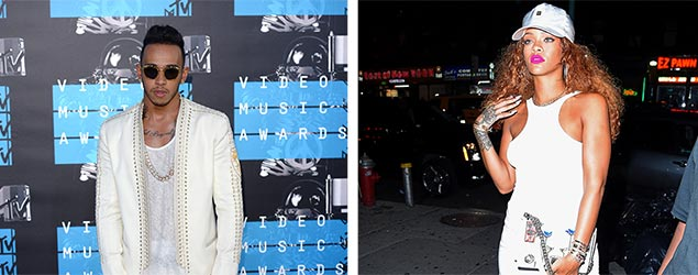 Lewis Hamilton / Rihanna (PA / Rex)