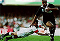 Jonah Lomu's 15 World Cup tries